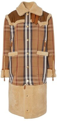 Burberry House Check Convertible Coat