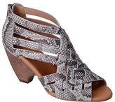 Corso Como Genni Snake Leather Sandals