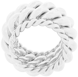 Isabel Lennse Twisted Spin Ring