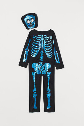 H&M Skeleton Costume - Black