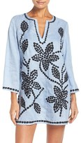 Tory Burch Women's Embroidered Cover-Up Tunic