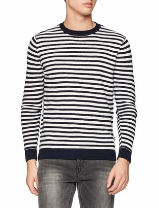 Jack and Jones Men's Jorbash Crew Neck Jumper