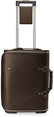 Vocier F38 Wheeled Leather Suitcase