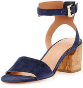 Sigerson Morrison Riva Ankle-Cuff City Sandal