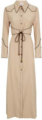 Nanushka Parx Midi Shirt Dress