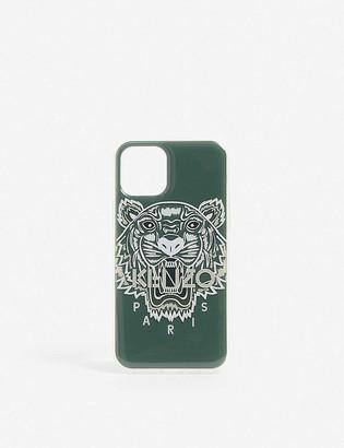Kenzo Tiger-logo resin phone case