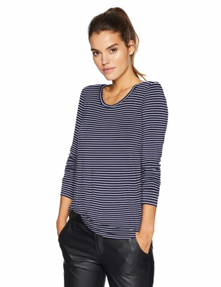 Daily Ritual Amazon Brand Women's Jersey Long-Sleeve Scoop-Neck Swing Tunic