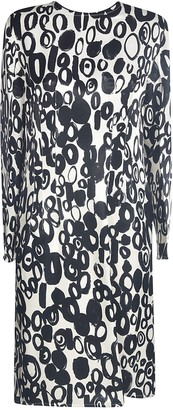 Marni Motif Print Mid-length Dress
