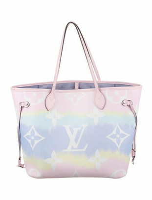 Louis Vuitton Escale Neverfull MM Pink