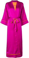 Iil7 lace up kimono cardigan
