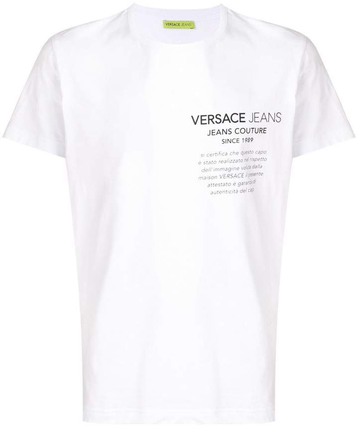 cf306770 Versace Logo Shirt - ShopStyle