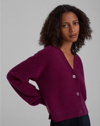 Club Monaco Boiled Cashmere Cardigan
