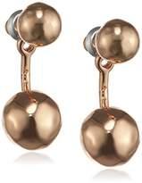 Pilgrim 26152 Summer Ear News Women's Stud Earrings, Brass, 1.8 cm