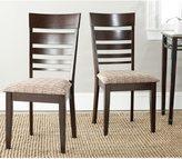 Safavieh Parsons Dining Nino Dark Beige Side Chairs (Set of 2)