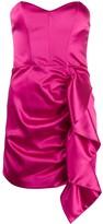 P.A.R.O.S.H. draped mini dress