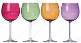 Lenox Tuscany Harvest 4-Piece Colorful Crystal Balloon Wine Glass Set