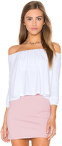 Susana Monaco Molly Off the Shoulder Top