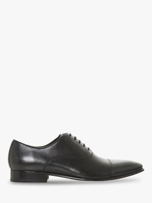 Dune Pontus Pointed Oxford Shoes, Black
