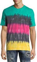 PRPS Striped Tie-Dye T-Shirt