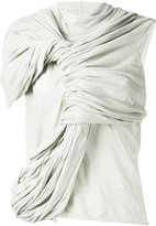 Rick Owens twisted sleeveless blouse - women - Cotton - 40