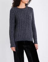 Masscob Ribbed alpaca-blend jumper