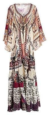 Camilla Women's La Fleur Libertine Paneled Maxi Dress