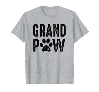 Mens Grand Paw Funny Best Grandpa Dog Lover Grandpaw Cute Gift T-Shirt
