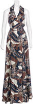 Rachel Zoe Silk Abstract Print Dress w/ Tags