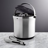 Crate & Barrel OXO ® Ice Bucket with Tongs