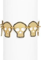 BaubleBar Crystal Skull Bracelet