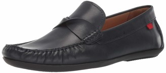 Marc Joseph New York Mens Genuine Leather Made in Brazil Plymouth Twisted Driver Driving Style Loafer black nappa 9.5 M US