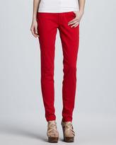 Vizcaino Bright Tone High-Rise Skinny Jeans