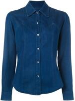 Romeo Gigli Pre Owned denim shirt