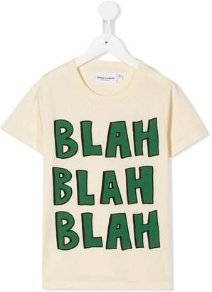 Mini Rodini blah print T-shirt