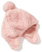 Old Navy Sherpa Pom-Pom Trapper Hat for Toddler