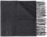 Fendi FF logo scarf - women - Silk/Cashmere - One Size