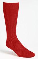 Lorenzo Uomo Men's Ribbed Socks