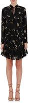 A.L.C. Women's Campbell Flower-Print Crepe Dress-BLACK