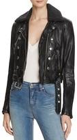 Free People Ashville Vegan-Leather Jacket