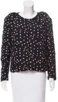 Isabel Marant Polka Dot Print Silk Jacket