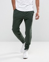 Abercrombie & Fitch Zip Hem Joggers Black Label Tapered Fit In Green