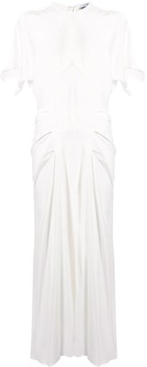 CHRISTOPHER ESBER tuck T-shirt dress