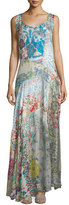 Johnny Was Bessy Sleeveless Printed Maxi Dress, Multi Colors