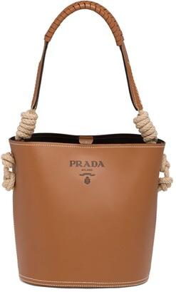 Prada Cord Details Bucket Bag