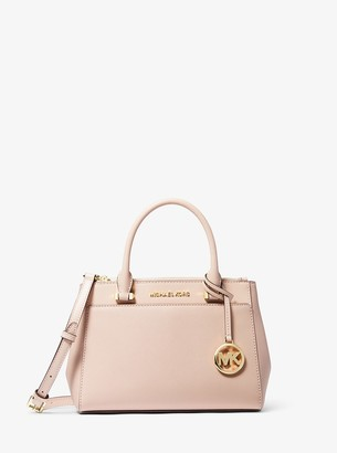 MICHAEL Michael Kors Gibson Small Saffiano Leather Satchel