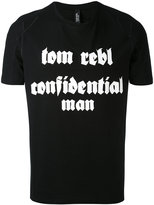 Tom Rebl slogan T-shirt - men - Cotton - S