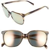 Salt Women's Kintner 55Mm Polarized Cat Eye Sunglasses - Hazy Taupe