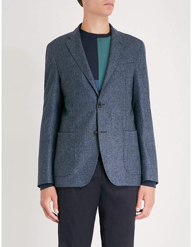 Etro Minerva regular-fit wool-blend jacket