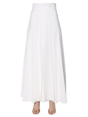 Brunello Cucinelli Pleated Maxi Skirt
