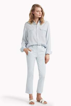 Great Plains Suki Stretch Crop Flared Trousers